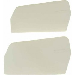 0871-5 Flybar Paddles 3-D Plastic White 20gr.-M4 - Pack of 2