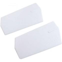 0871-7 X-Cell 3-D Paddles White- 20gr.-m4 - Pack of 2