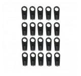 2700-15 Black Ball Links - Short (0135) - Pack of 20