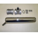 4000-10 GAS Muffler for ZG 20 - 29  RC / PUH Engines