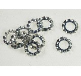 0016-1 4mm External Serrated Lock Washer - Pack of 10
