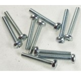 0039-1 2.5 x 14mm Phillips Machine Screw - Pack of 10