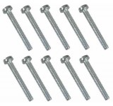 0046 2 x 16mm Slotted Machine Screw - Pack of 10