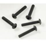 0064-4 3 x 16mm Button Head Socket Bolt - Pack of 5