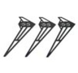 2700-90 C/F Fury 55 Vertical Fin - Pack of 3