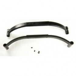 0151 Black Plastic Struts - Pack of 2
