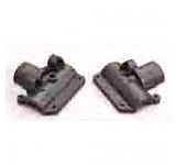 0422 Modified Plastic T/R Gear Box Housing - Set
