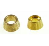 0546-10 Brass Fan Collet - Set