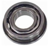 0636 m5 x 10 x 3 Open Flanged Ball Bearing  - Pack of 2