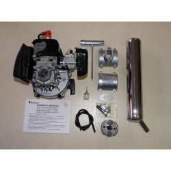 4500-32 Whiplash Gas Engine 300 / Long Muffler Set