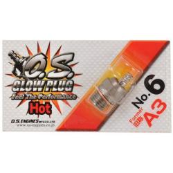4600-50 O.S. Glow Plug no. 6 - Pack of 1