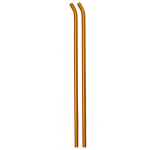 131-142 Orange Whiplash Skids - Pack of 2