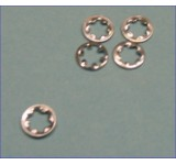 0006 3mm Star Lock Washers - Pack of 5