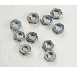0017-2 2.5mm Hex Nut - Pack of 10