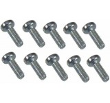 0040 2 x 6mm Slotted Machine Screw - Pack of 10