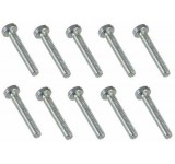 0044 2 x 12mm Slotted Machine Screw - Pack of 10